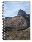 El Capitan - Guadalupe Mountains National Park Spiral Notebook