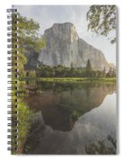 El Capitan In Reflection Spiral Notebook