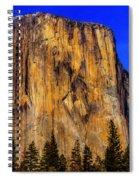 El Capitan Mountain Spiral Notebook