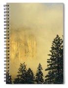 El Capitan Sunrise Glow Spiral Notebook