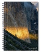 El Capitan Tree At Sunset Spiral Notebook
