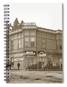 El Carmelo Bakery Lighthouse And Forest Ave. Circa 1890 Spiral Notebook