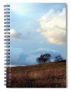 El Dorado Hills Skyscape Spiral Notebook