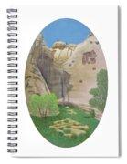 El Estanque Del Penol Spiral Notebook