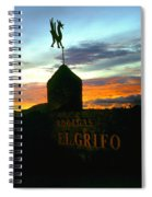 El Grifo Spiral Notebook