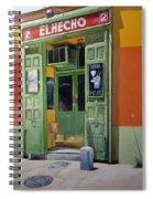 El Hecho Pub Spiral Notebook