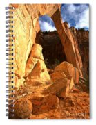 El Malpais La Ventana Arch Spiral Notebook