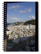 El Morro Cemetery Framed Spiral Notebook