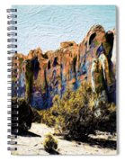 El Morro Cliffs Spiral Notebook
