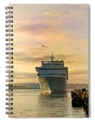 Elation - Leaving For A Cruise Spiral Notebook
