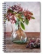 Elderberries 07 Spiral Notebook