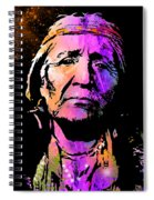 Elderly Hupa Woman Spiral Notebook