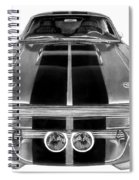 Eleanor Ford Mustang Spiral Notebook