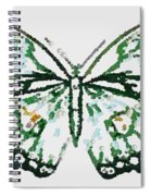 Election 2020 Presidential Candidate Catherien Lott Usa Green Butterfly Spiral Notebook