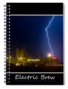 Electric Brew Poster Spiral Notebook