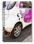 Electric Car Spiral Notebook