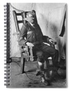 Electric Chair, 1908 Spiral Notebook