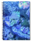 Electric Coral Spiral Notebook