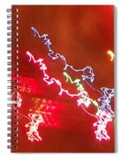 Electric Dazzle Abstract Spiral Notebook