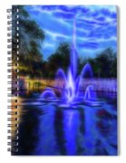 Electric Fountain  Spiral Notebook