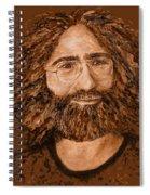 Electric Jerry Desert - T-shirts-etc Spiral Notebook