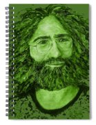 Electric Jerry Olive - T-shirts-etc Spiral Notebook