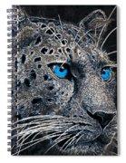 Electric Leopard Spiral Notebook