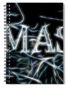Electric Namaste Spiral Notebook