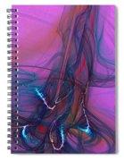 Electric Pocket Rocket Orgasm   Spiral Notebook