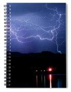 Electric Skies  Spiral Notebook