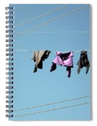 Electric Sky  Spiral Notebook