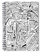 Electric Spiral Notebook