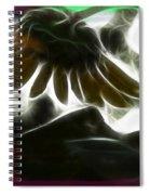 Electric Sunflower Spiral Notebook