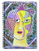 Electric Thoughts Spiral Notebook
