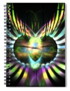 Electric Wings Spiral Notebook