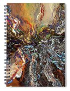 Electrical Storm Spiral Notebook