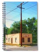 Electromagnetic Motel Spiral Notebook