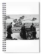 Elegance Unfolding Spiral Notebook