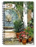Elegant Afternoon Spiral Notebook