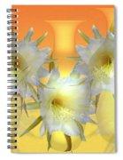 Elegant Beauty Spiral Notebook