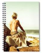 Elegant Classical Beauty  Spiral Notebook