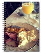 Elegant Easter Spiral Notebook