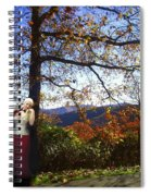 Elegant Fall Spiral Notebook
