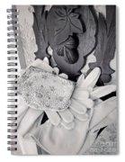 Elegant Fashion Spiral Notebook
