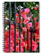 Elegant Fence Spiral Notebook