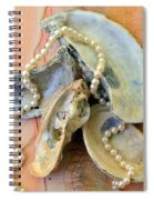Elegant Treasures From The Sea Spiral Notebook