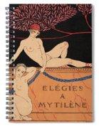 Elegies A Mytilene Spiral Notebook
