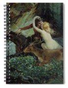 Elegy Of Bohemia Spiral Notebook
