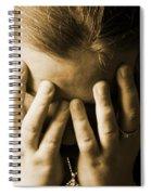 Elena Hands Spiral Notebook