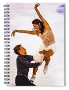 Elena Ilinykh And Ruslan Zhiganshin Spiral Notebook